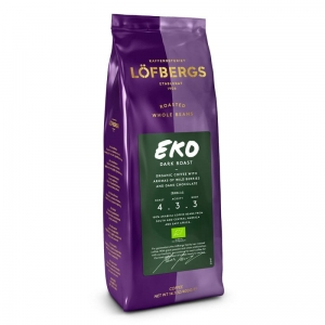 Lofbergs EKO Dark Roast - ziarnista - 400g